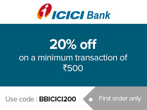 Get 20% off on a minimum purchase of Rs. 500