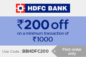 Min Rs.200 off on minimum transaction of Rs.1000