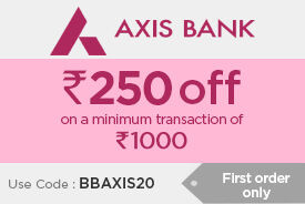 Min Rs. 250 off on a minimum purchase of Rs. 1000 and above