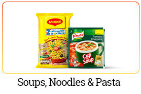 Buy Soups,Noodles and pasta online from kitchen