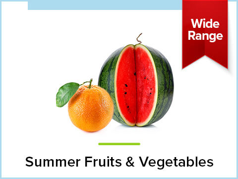 Summer Fruits & Vegetables