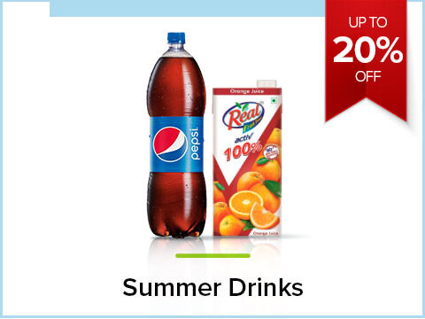 Up to 20% off on Summer Drinks