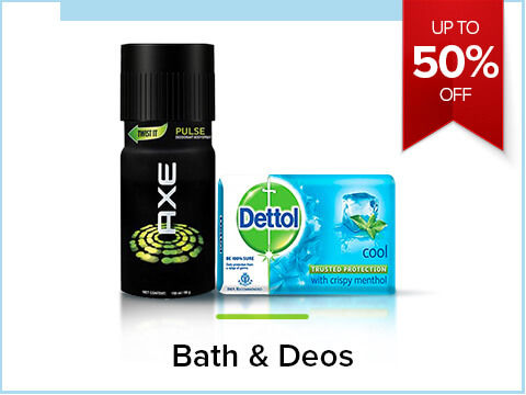 Up to 50% off on Bath & Deo s