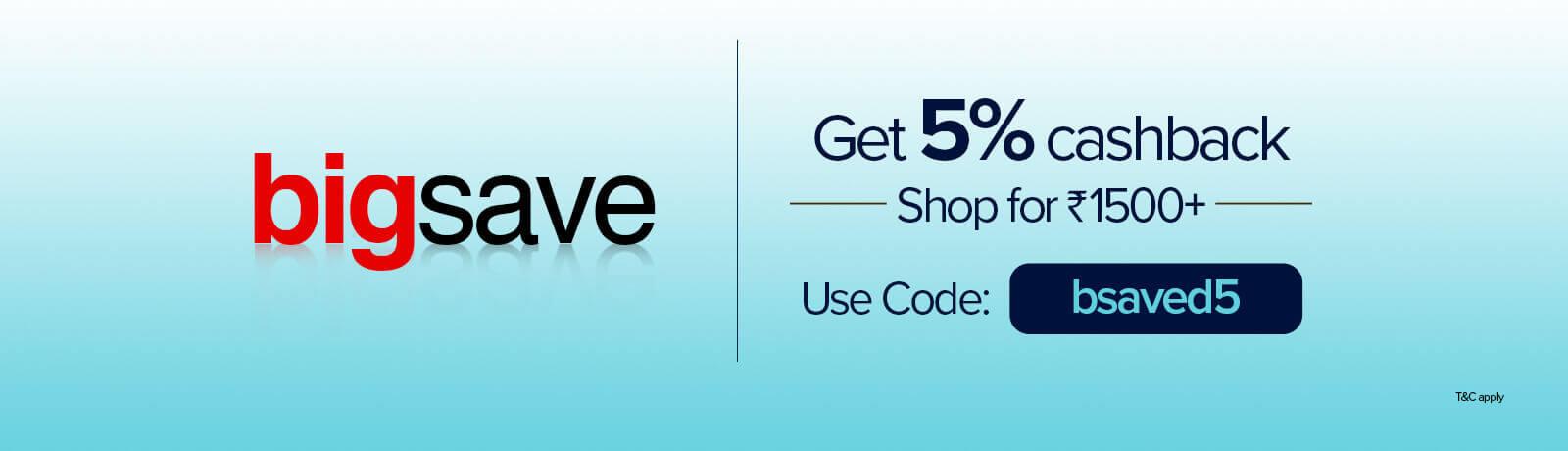 Big save offers