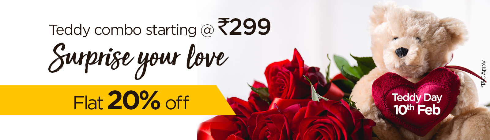 offer on Flowers