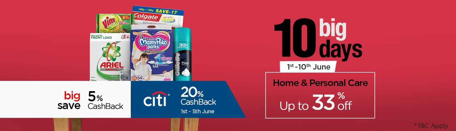 cashback offer Citibank Debit & Credit Cards