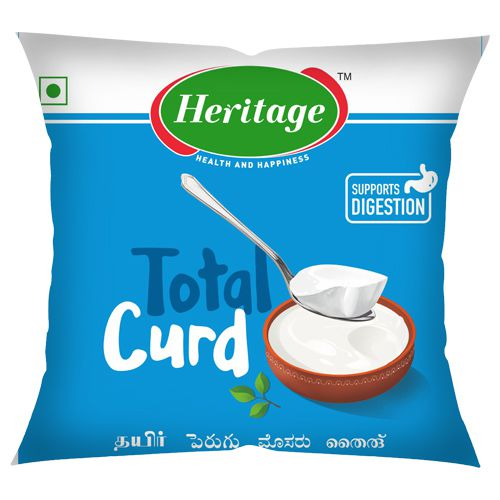 Heritage Total Curd, 500 g Pouch