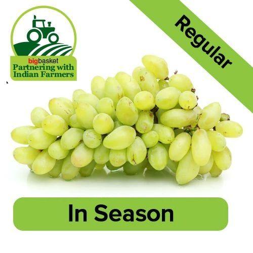 Fresho Grapes - Green Seedless, 1 kg