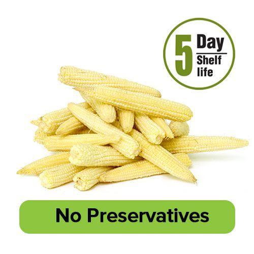 Fresho Baby Corn - Peeled, 1 kg