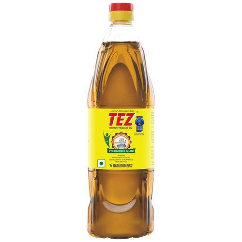 Tez Oil - Mustard (Kachchi Ghani), 500 ml Bottle