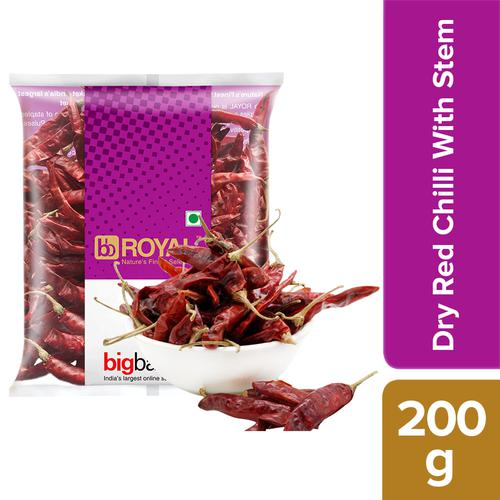 BB Royal Chilli - Guntur with Stem, 200 g