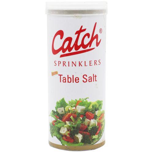Catch Table Salt - Iodized, 100 gm Tin