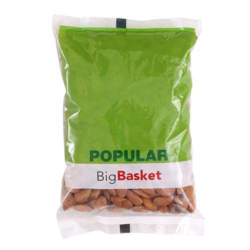bb Popular Almond/Badam - Californian, Giri, 500 g Pouch