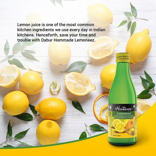 Dabur Hommade Lemoneez - Goodness Of 33 Lemons, 250 ml