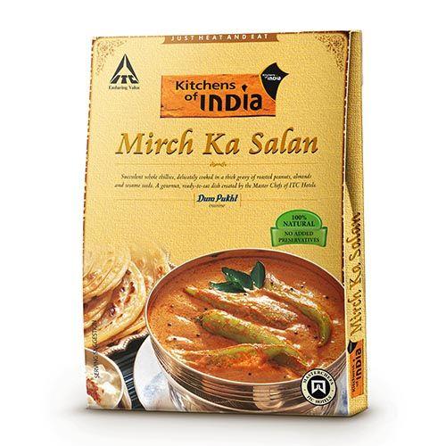 Kitchens Of India Ready To Eat - Mirch Ka Salan, 285 gm