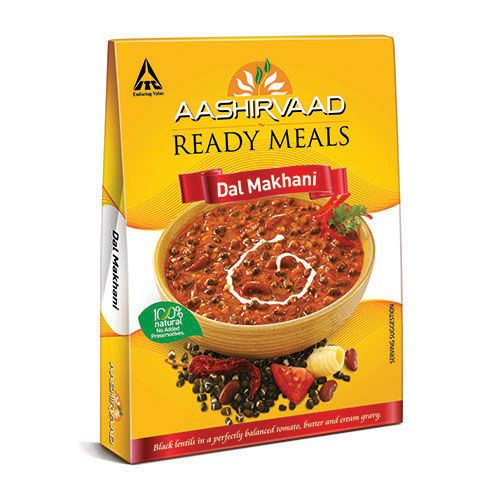 Aashirvaad Ready Meals - Dal Makhani, 285 gm Carton