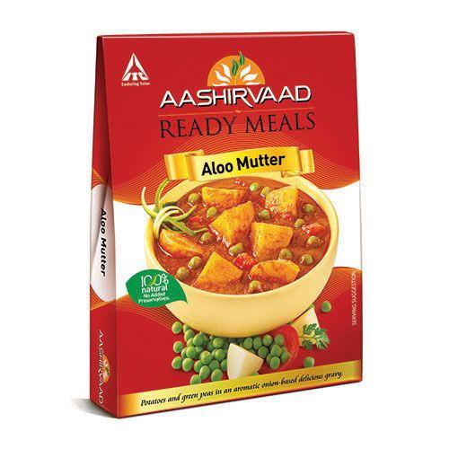 Aashirvaad Ready Meals - Aloo Mutter, 285 g Carton
