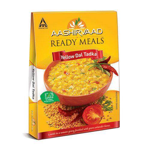 Aashirvaad Ready Meals - Yellow Dal Tadka, 285 g Carton