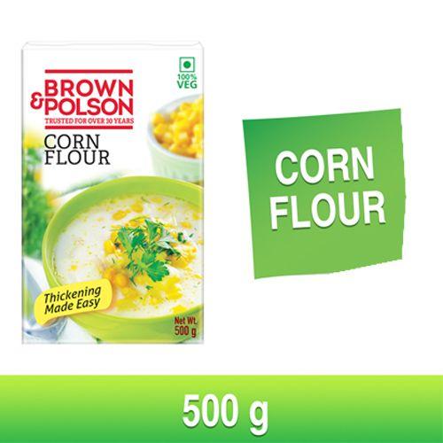 Brown & Polson Corn Flour, 500 gm