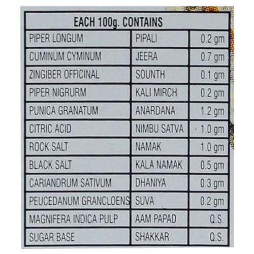 Chandan Mouth Freshener - Mango Khatta Mitha, 160 gm Bottle