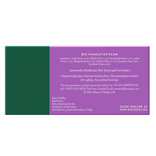 BIOTIQUE Himalayan Plum - Soap, 150 g Carton