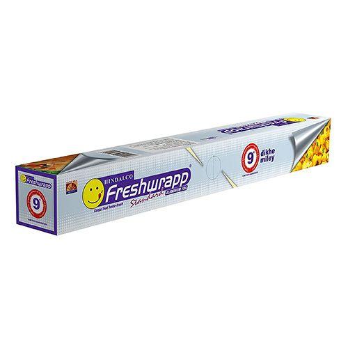 Hindalco Freshwrapp - Standard Aluminium Foil, 9 mtr Carton