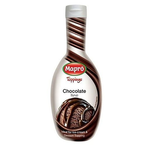 Mapro Dessert Topping - Chocolate Syrup, 500 ml Jar