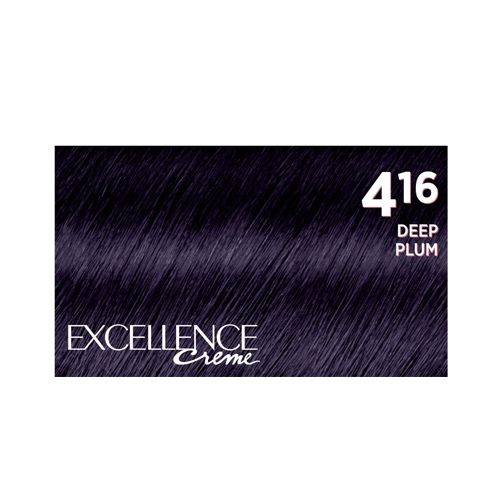 Loreal Paris Excellence Creme Hair Colour - 4.16 Deep Plum, 172 gm