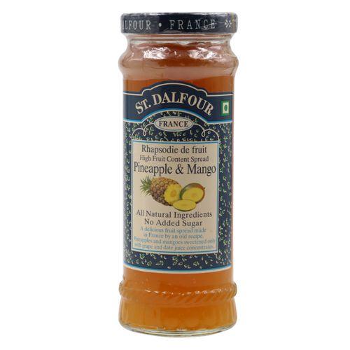 St. Dalfour Rhapsodie de fruit High Fruit Content Spread - Pineapple & Mango, 284 g