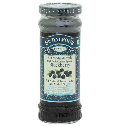St. Dalfour Rhapsodie de fruit High Fruit Content Spread - Blackberry, 284 gm
