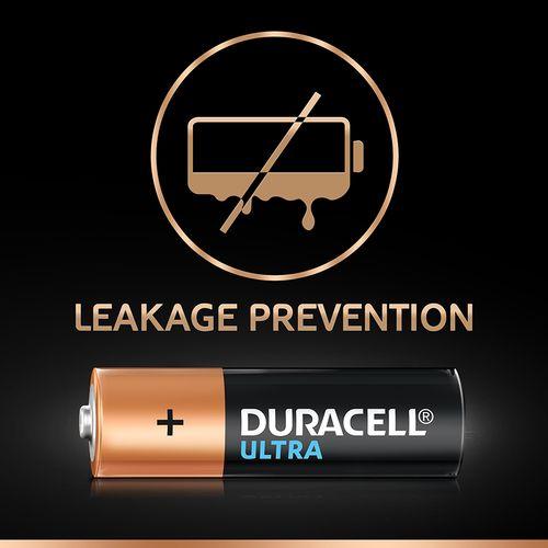 Duracell Ultra-Alkaline Battery AA, 8 pcs