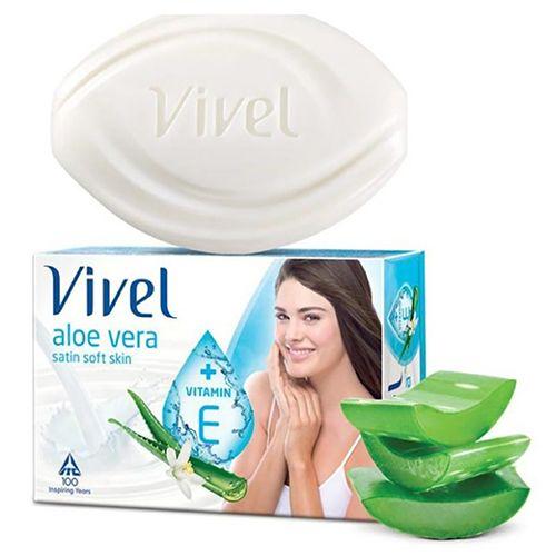 Vivel Bathing Soap - Aloe Vera, 100 gm