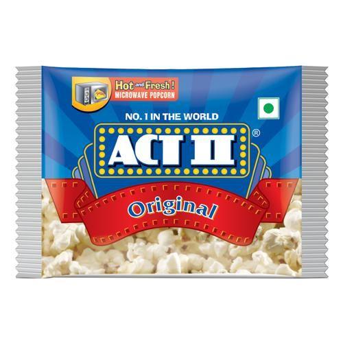 ACT II Microwave Popcorn - Original, 33 g Pouch