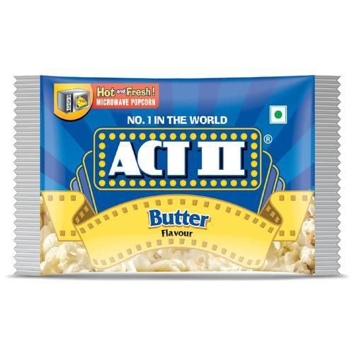 ACT II Microwave Popcorn - Butter, 33 g Pouch