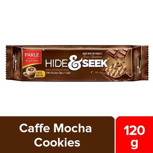 Parle Hide & Seek Caffe Mocha Cookies, 120 g Pouch