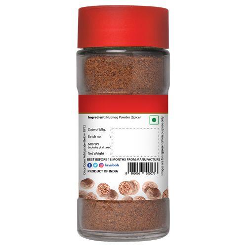 Keya Powder - Nutmeg, Travancore, 65 gm Jar