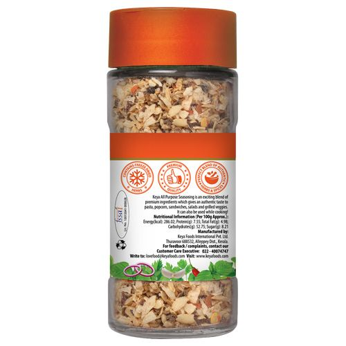 Keya Seasoning - All Purpose, 60 gm Bottle