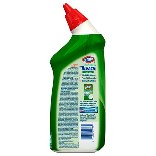 Clorox Toilet Bowl Cleaner - With Bleach, Fresh Scent, 709 ml