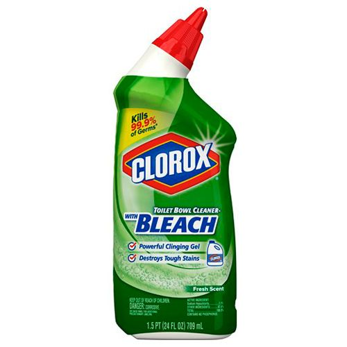 Clorox Toilet Cleaner Fresh Scent, 709 ml
