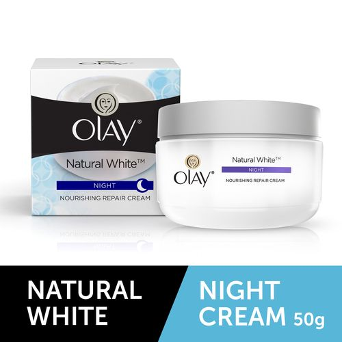 Natural White - All-In-One Fairness Night Skin Cream