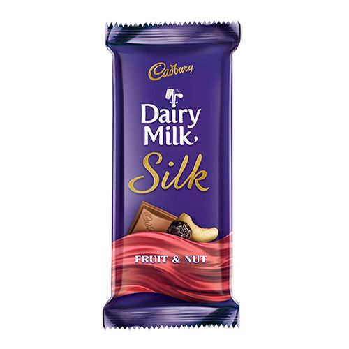Cadbury Dairy Milk Silk Fruit & Nut Chocolate Bar 55 gm ...