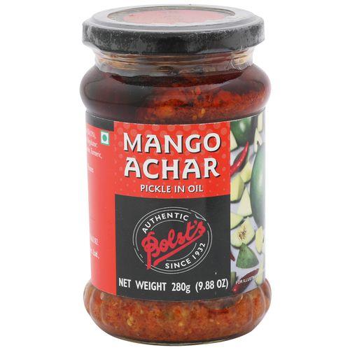 Bolst's Pickle - Mango in Oil, 350 gm Jar