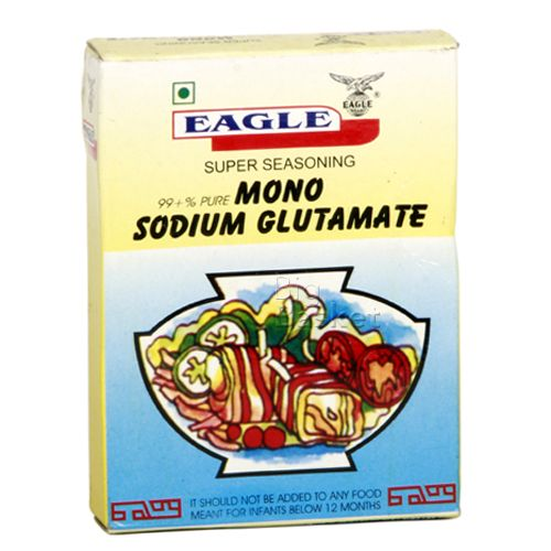 Eagle Super Seasoning - Mono Sodium Glutamate, 25 gm Carton