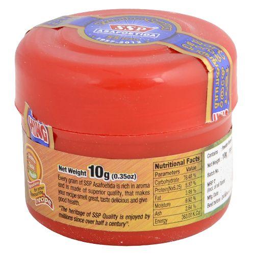 Ssp Asafoetida - Powder, 10 g Jar