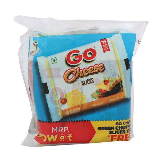 Gowardhan Go Processed Cheese, 200 g Carton