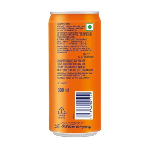 Fanta Soft Drink Orange Flavour 300 Ml