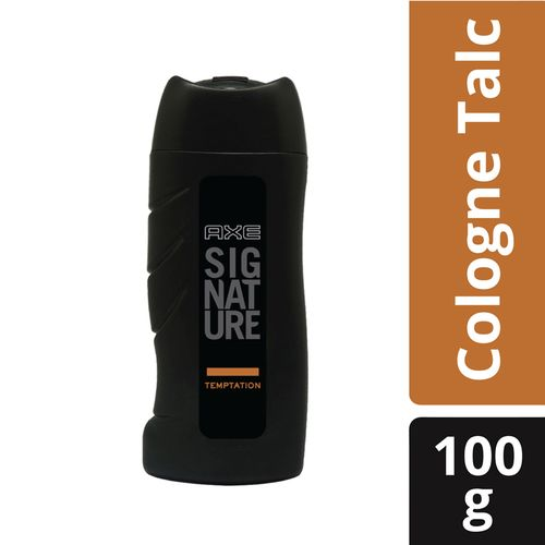 Axe Signature Temptation Cologne Talc, 100 g