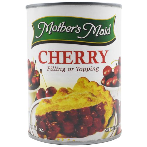 Mothers Maid Filling or Topping - Cherry, 595 g Tin
