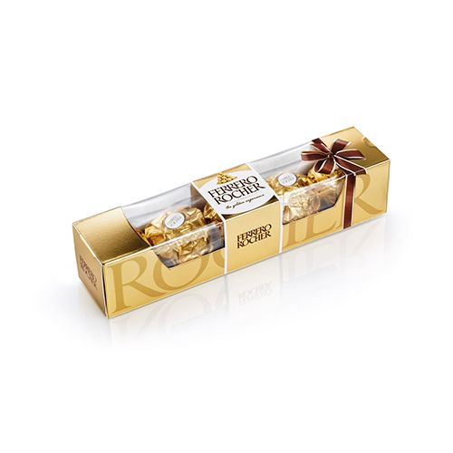 Ferrero Rocher- 4 Pralines Perfect Little Treat, 50 g Carton