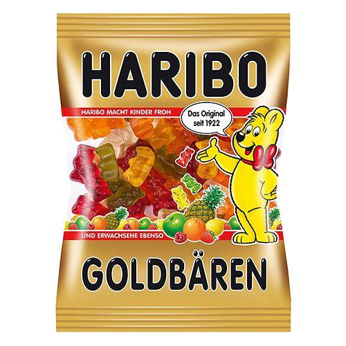 Haribo Goldbaren - Gummy Bears Candies, 100 gm Pouch